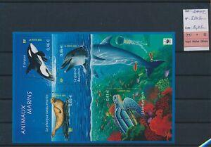 LN80899 France 2002 fish coral sealife good sheet MNH fv 2,02 EUR