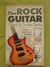 outil pédagogique pour apprendre la GUITARE THE ROCK GUITAR CHORD & SCALE DECKS