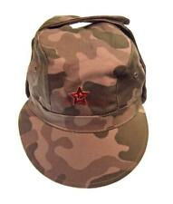 Russian Army Soldier Cap Military Multicolor Hat Soviet Uniform Red Star