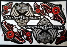 Harley Davidson decal pegatina/sticker set