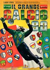 ALBUM FIGURINE=IL GRANDE CALCIO 90=EDIZIONI VALLARDI=PRESENTI 443/448 FIGURINE