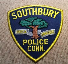 CT Southbury Connecticut Police Patch
