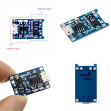 Durable 2PCS 5V Micro USB 1A 18650 Lithium Battery Charging Board Charger Module
