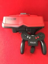 USED Nintendo Virtual Boy 3D Console Red & Black Tested Work F/S Japan