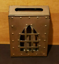 Vintage Art & Crafts Copper Mailbox Handcrafted by Ernest Gishner, Washington DC