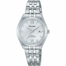 Ladies Pulsar PH7453X1  Stainless Steel Watch With Crystal Dial. RRP £89.95