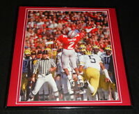Cris Carter 1986 Ohio State Buckeyes Framed 12x12 Poster Photo