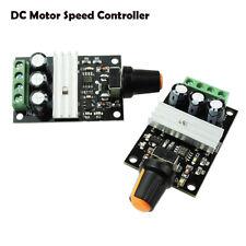 DC6V/12V/24V/28V 3A PWM Variable Motor Speed Controller Potentiometer Switch