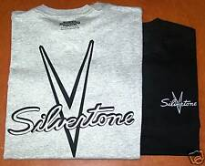 VINTAGE SILVERTONE GUITAR T-SHIRT SIZE X-LARGE and all other sizes