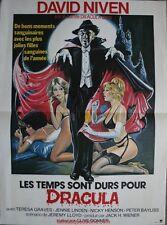 LES TEMPS SONT DURS POUR DRACULA Affiche Cinéma / Movie Poster David Niven