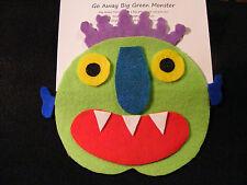 "Felt/ Flannel Board Story -""Go Away, Big Green Monster"" preschool circle time"