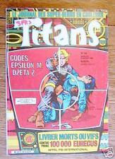 TITANS n° 94 - mensuel - novembre 1986