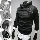 Super Handsome Mens Slim Fit Sexy Top Designed Hoodies Jackets Coats Tops PJ POP
