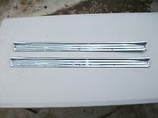 RECHROMED FRONT SCUFF PLATES FOR LJ LC HOLDEN TORANA