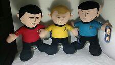 James T Kirk Star Trek Spock Plush Set