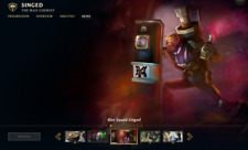 (NA) Riot Squad Singed   League of Legends LOL Account   9 Champs   7 Skins