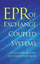 """NEW """"EPR of Exchange Coupled Systems"""" by Alessandro Bencini (Paperback)"""