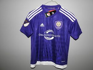 MLS Orlando City SC Adidas Soccer Jersey New Youth Sizes