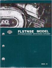2015 Harley-Davidson FLSTNSE CVO Softail Deluxe Service Repair Manual Supplement