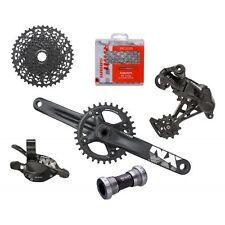 Gruppo bicicletta MTB monocorona Sram NX 11v comando trigger 175mm groupset