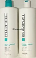 Paul Mitchell Instant Moisture Shampoo & Conditioner 33.8 oz Duo *Same Day Ship