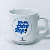 New York Telephone NY Take The Extra Step Coffee Mug Heavy Vintage