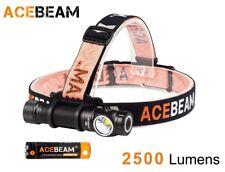 New AceBeam H15 Cree XHP70.2 2500 Lumens 5000K LED Headlight Flashlight w/18650