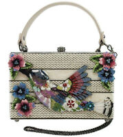 Mary Frances Spread Your Wings Embellished Hummingbird Top-Handle Bag NWT!