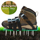 Lawn Aerator Shoes Lawn Spikes Shoes 4 Adjustable Straps Garden Aerating Tool