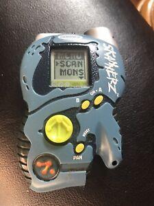Radica Skannerz Blue Zendra LCD Barcode Monster Scanner Vintage Toy 2000
