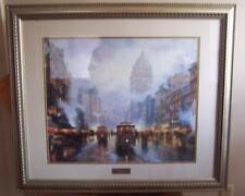 Thomas Kinkade San Francisco-Market Street Framed Signed Lithograph Print