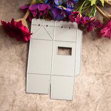 Geschenk- box Stencils DIY Cutting Dies Scrapbooking Tagebuch Stanzschablone de