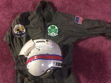Gentex SPH-3 Navy Anti-Submarine Helicopter Pilot Helmet Flight Suit 49 Stars