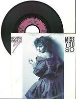 "Bonnie Bianco, Miss You So, G/VG, 7"" Single, 1514"