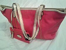 Giovanna large hand bag shopper adjustable straps purse outer + interior pockets