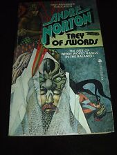 TREY OF SWORDS BY ANDRE NORTON ACE BOOKS Science Fiction First Paperback Ed 1978