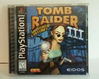 Tomb Raider III - PS1 PS2 Complete Playstation Game