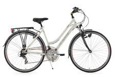 """Trekkingrad Damenfahrrad 28"""" Vegas WEISS Flachlenker RH 48 Cm KS Cycling 111T"""
