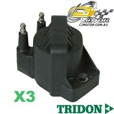 TRIDON IGNITION COIL x3 FOR Holden  Commodore-V6 VN (Ser.II)-VP 90-93, V6, 3.8L