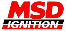 MSD Ignition Sticker 180 x 85 mm  BUY 2 & Get 3