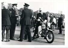 Moto de Police Triumph c. 1960 - PRB 732