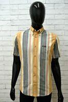 Camicia Uomo MARLBORO CLASSIC Taglia S Maglia Shirt Man Manica Corta a Righe