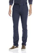 BILLABONG Men's Carter Chino Stretch Pants Navy Blue Mens 38 Waist X  34 Inseam
