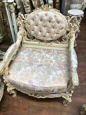 Silik Rococo Baroque Italian living room sofa love seat chair Italy