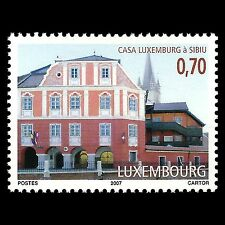Luxembourg 2007 - Casa Luxembourg at Sibiu Romania Architecture - Sc 1222 MNH
