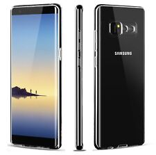 For Samsung Galaxy Note 8 Soft TPU Shockproof Bumper Clear Case Cover