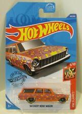 2020 Hot Wheels HW Flames '64 Chevy Nova Wagon Orange 1964 Chevrolet