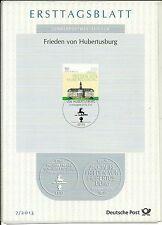 BRD/ Architektur-Schloss MiNr 2985 ETB 7/2013