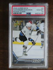 2005-06 Upper Deck Rookie Class Alexander Ovechkin RC Capitals Gem MINT PSA 10