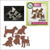 Puppy Set steel metal die set Impression Obsession Cutting Dies DIE142-J Animals